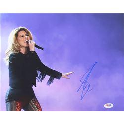 Shania Twain Signed 11x14 Photo (PSA COA)