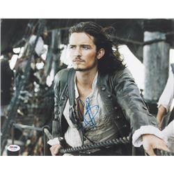 "Orlando Bloom Signed ""Pirates of the Caribbean"" 11x14 Photo (PSA COA)"