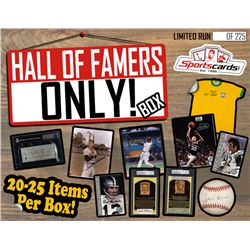 """""""Hall of Famers ONLY!"""" Collectors Mystery Box! 15+ HOF Autographed Items Per Box!"""