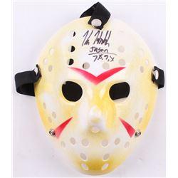 "Kane Hodder Signed ""Friday the 13th"" Jason Voorhees Mask Inscribed ""Jason 7, 8, 9, X"" (PA COA)"