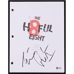 "Tim Roth Signed ""The Hateful Eight"" Movie Script (Beckett Hologram)"