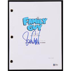 "Seth Green Signed ""Family Guy"" Pilot Script (Beckett COA)"
