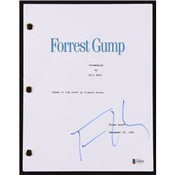 """Tom Hanks Signed """"Forrest Gump"""" Movie Script (Beckett COA)"""