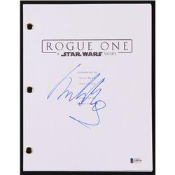 "Mads Mikkelsen Signed ""Star Wars: Rogue One"" Movie Script (Beckett COA)"