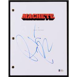 "Robert Rodriguez Signed ""Machete"" Movie Script (Beckett Hologram)"