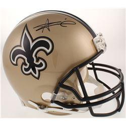 Alvin Kamara Signed New Orleans Saints Full-Size Authentic On-Field Helmet (Radtke COA)