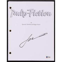 "John Travolta Signed ""Pulp Fiction"" Movie Script (Beckett COA)"