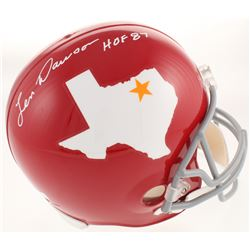 "Len Dawson Signed Dallas Texans Signed Full-Size Helmet Inscribed ""HOF 87"" (Radtke COA)"