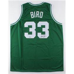 Larry Bird Signed Jersey (Beckett COA)