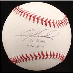 "Craig Kimbrel Signed OML Baseball Inscribed ""155 Saves""  ""6-6-2014"" (Radtke COA)"