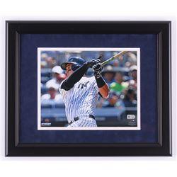 "Tyler Austin Signed New York Yankees ""First Career HR"" 13.5x16.5 Custom Framed Photo Display (Steine"