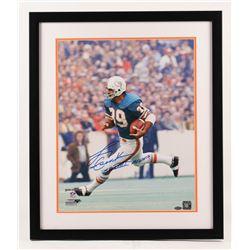 Larry Csonka Signed Miami Dolphins 22x26 Custom Framed Photo (Steiner COA)