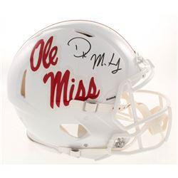 D.K. Metcalf Signed Ole Miss Rebels Full-Size Authentic On-Field Speed Helmet (Radkte COA)
