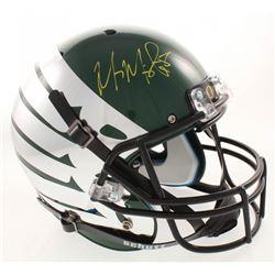 Marcus Mariota Signed Oregon Ducks Full-Size Helmet (Mariota Hologram  Radtke COA)
