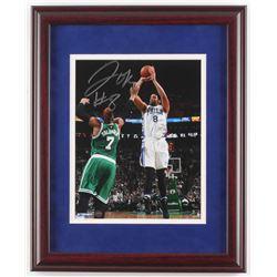 Jahlil Okafor Signed Philadelphia 76ers 13x16 Custom Framed Photo Display (Steiner Hologram)