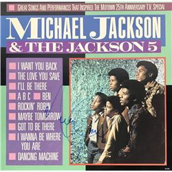 "Michael Jackson Signed ""Michael Jackson  The Jackson 5"" Vinyl Record Album (Beckett LOA)"
