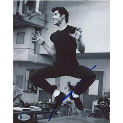 "John Travolta Signed ""Grease"" 8x10 Photo (Beckett Hologram)"