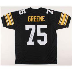 "Joe Greene Signed Jersey Inscribed ""HOF 87"" (JSA COA)"