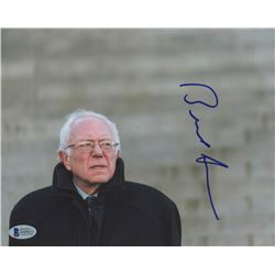 Bernie Sanders Signed 8x10 Photo (Beckett COA)