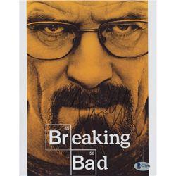"Vince Gilligan Signed ""Breaking Bad"" 8x10 Photo (Beckett COA)"