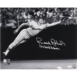 "Brooks Robinson Signed Baltimore Orioles 16x20 Photo Inscribed ""16x Gold Glove"" (JSA COA)"