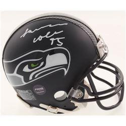 L. J. Collier Signed Seattle Seahawks Mini Helmet (Prova COA)
