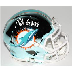 Mike Gesicki Signed Miami Dolphins Chrome Speed Mini-Helmet (JSA COA)