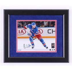 Oscar Lindberg Signed New York Rangers 13x16 Custom Framed Photo Display (Steiner COA)
