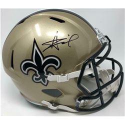 Alvin Kamara Signed New Orleans Saints Full-Size Speed Helmet (Fanatics Hologram)