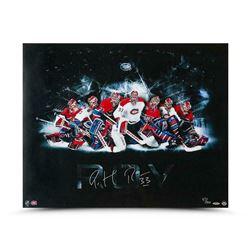 Patrick Roy Signed Montreal Canadiens 24x30 Photo (UDA COA)