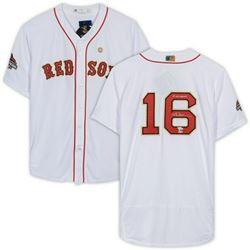 "Andrew Benintendi Signed Boston Red Sox Jersey Inscribed ""18 WS Champs"" (Fanatics Hologram  MLB Holo"