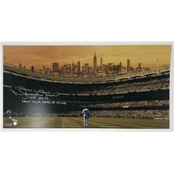 """Mariano Rivera Signed New York Yankees 10x20 Limited Edition Photo Inscribed """"HOF 2019""""  """"New York S"""