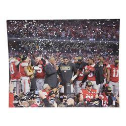 Ezekiel Elliott Signed Ohio State Buckeyes 16x20 Photo (JSA Hologram)