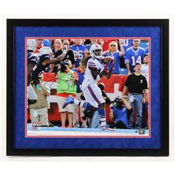 Sammy Watkins Signed Buffalo Bills 22x26 Custom Framed Photo Display (Steiner COA)