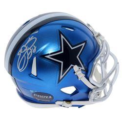 Emmitt Smith Signed Dallas Cowboys Blaze Speed Mini Helmet (Prova Hologram)