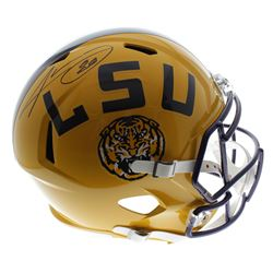 Jarvis Landry Signed LSU Tigers Full-Size Speed Helmet (JSA COA)
