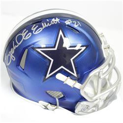 Ezekiel Elliott Signed Dallas Cowboys Speed Blaze Mini-Helmet (Beckett COA)