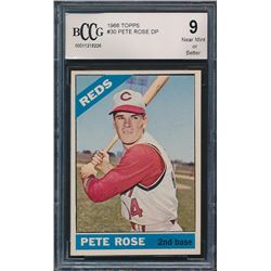 1966 Topps #30 Pete Rose DP (BCCG 9)