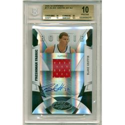2009-10 Certified #171 Blake Griffin Jersey Autograph RC (BGS 10)