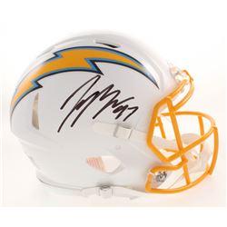 Joey Bosa Signed Los Angeles Chargers Full-Size Authentic On-Field Speed Helmet (JSA COA)