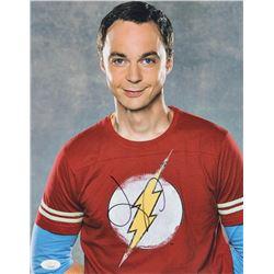 """Jim Parsons Signed """"The Big Bang Theory"""" 11x14 Photo (JSA COA)"""