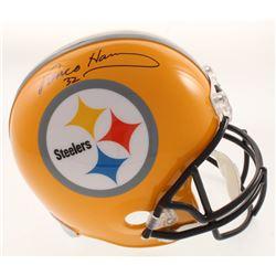 Franco Harris Signed Pittsburgh Steelers Full-Size Helmet (JSA COA)