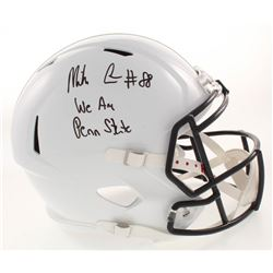 """Mike Gesicki Signed Penn State Nittany Lions Full-Size Speed Helmet Inscribed """"We Are Penn State"""" (J"""