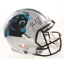 Luke Kuechly Signed Carolina Panthers Full-Size Authentic On-Field Speed Helmet (JSA COA)