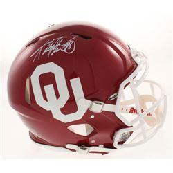 Adrian Peterson Signed Oklahoma Sooners Full-Size Authentic On-Field Speed Helmet (Beckett COA)