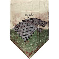 "Kit Harington Signed ""Game of Thrones"" 28x42 Battle of the Bastards Banner (Radtke COA)"
