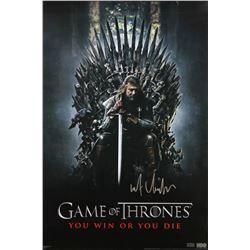 "Kit Harington Signed ""Game of Thrones"" 24x36 Poster (Radtke COA)"