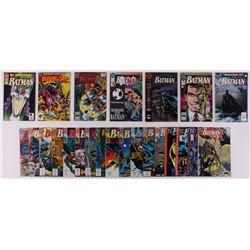 """Lot of (24) 1989-93 """"Batman"""" #434-#497 DC Comic Books"""