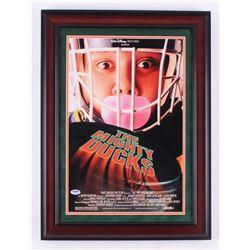 "Joshua Jackson Signed ""The Mighty Ducks"" 17x23 Custom Framed Photo Display (Steiner COA)"