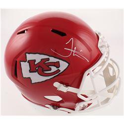 Tyreek Hill Signed Kansas City Chiefs Full-Size Speed Helmet (JSA COA)